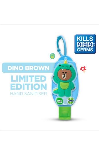 Dettol Dettol x LINE Hand Sanitiser 50ml with Bag Tag - Dinosaur 92ADDES6B29ED1GS_1