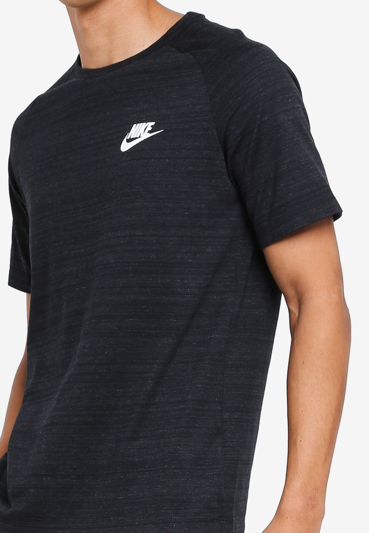 Advance Men's 15 Nike Top Sportswear White Heather Nike Black wwPBE