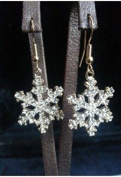 snow flakes earring