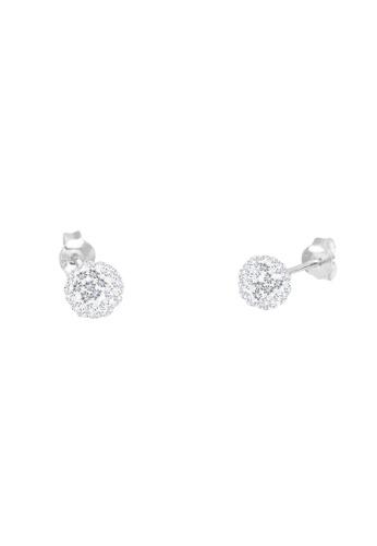 Elli Germany silver 925 Sterling Silver Swarovski® Crystals Earrings EL474AC76GSHMY_1