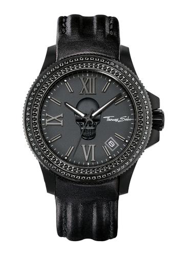 "Thomas Sabo black Men's Watch ""REBEL ICON"" 71112AC2C8DAA2GS_1"