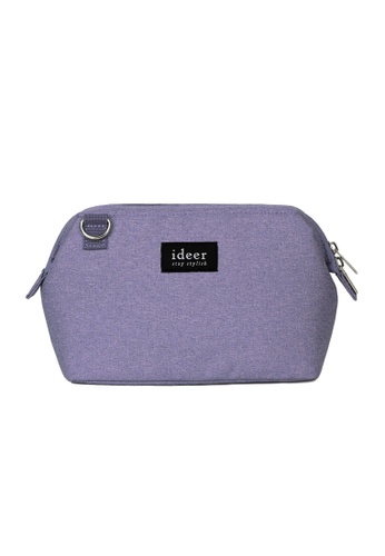 ideer purple Caro Lavender Mirrorless Camera Cross Bag ID960AC07VXKHK_1