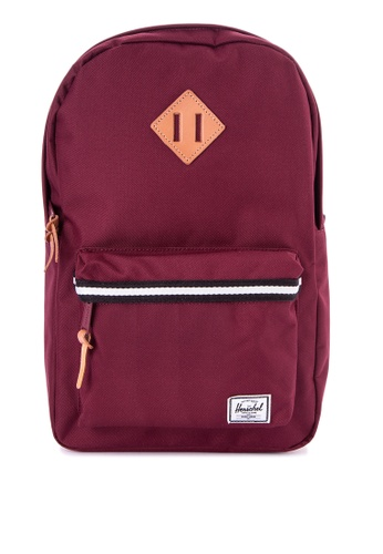Herschel red Heritage Mid-Volume Backpack HE958AC0JPXQPH_1