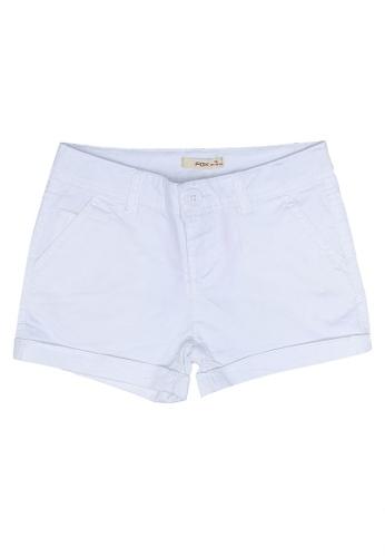 FOX Kids & Baby white Kids Girl Shorts 61D8AKA39CD492GS_1
