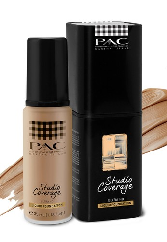 PAC white PAC STUDIO COVERAGE LIQUID FOUNDATION 04 12/35 EEB74BE53F4E55GS_1
