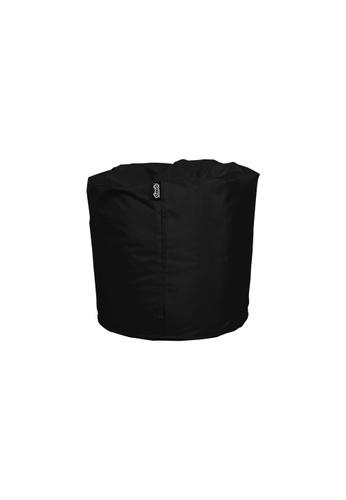 doob black TOOTSIE - ottoman/footrest doob bean bag (Jet Black) 12DBEHL1783F7EGS_1