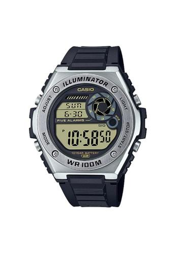 Casio black CASIO GENERAL MWD-100H-9AVDF MEN'S WATCH 16529AC4BE1542GS_1