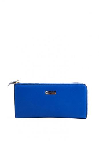 Otto blue Zip Around Long Wallet OT407AC0JCMUPH_1