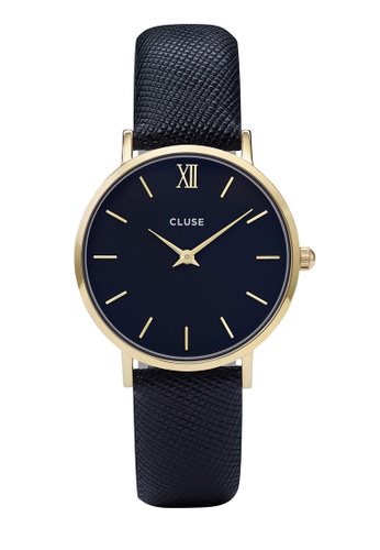 CLUSE blue and gold Minuit Gold/Midnight Blue CL30014 CL977AC0RDBOMY_1