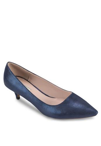 金屬感細跟中高跟鞋,esprit高雄門市 女鞋, 厚底高跟鞋