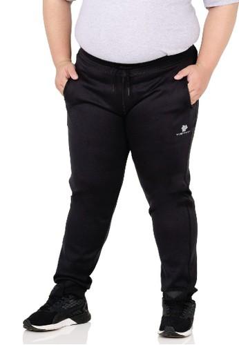 Tiento black Tiento Celana Jumbo Pria Jogger Panjang Long Pants Basic Sporty Men Big Size 392FFAAE56A38AGS_1