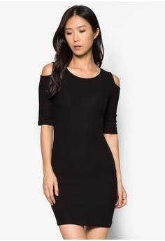 Ribbed Cotton Dress