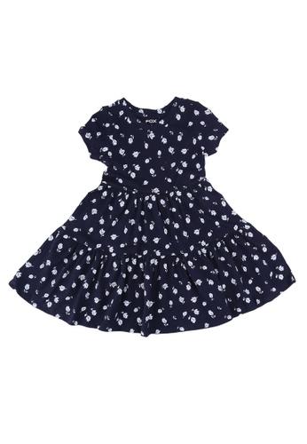 FOX Kids & Baby navy Navy Skater Dress B67F9KA4E4B85CGS_1