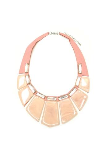 ACEXSPADE pink Diaz Necklace – Pink B3DAFACF68E672GS_1