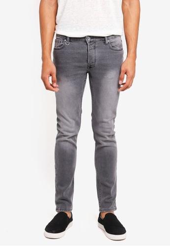 MANGO Man grey Slim-Fit Light Grey Tim Jeans 7241EAA960F7BDGS_1