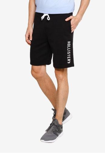 Hollister black Tech Shorts 415A9AA5F43375GS_1