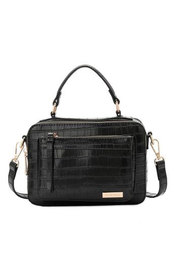 Swiss Polo black Swiss Polo Ladies Top Handle Sling Bag EDBA9ACD942DDEGS_1