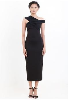 [PRE-ORDER] Asymmetric Midi Dress