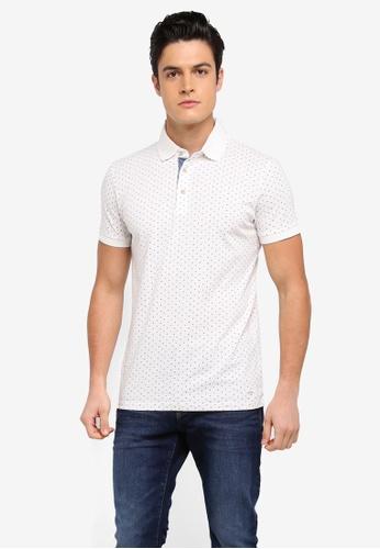 ESPRIT white Short Sleeve Polo Shirt C2D60AA2B4B6B2GS_1