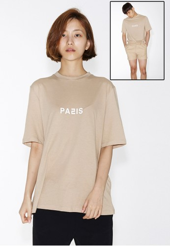 Loesprit台灣官網ve City  Paris 短袖上衣, 服飾, 上衣