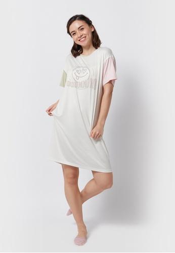 6IXTY8IGHT white HALIE, Tee Dress HW08866 E5D79AA4405DF5GS_1