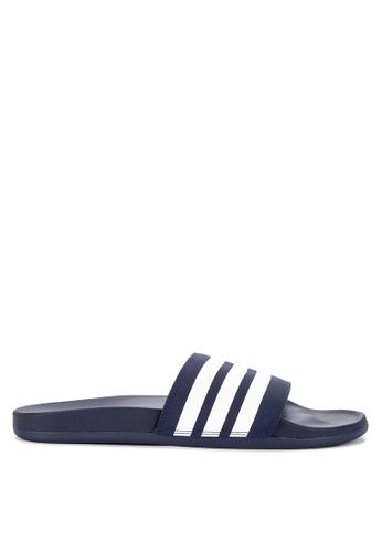 best supplier temperament shoes new york adidas adilette cloudfoam plus stripes slides