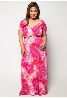 Plus Size Moonlight Serenade Maxi Dress