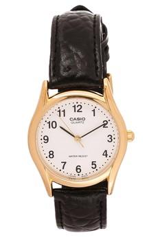 Strap Fashion Analog Watch MTP-1094Q-7B1D