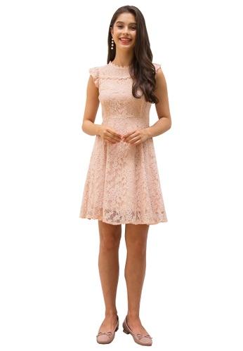 L'zzie pink LZZIE NEFERTITI DRESS - PINK 7F731AA1130F33GS_1