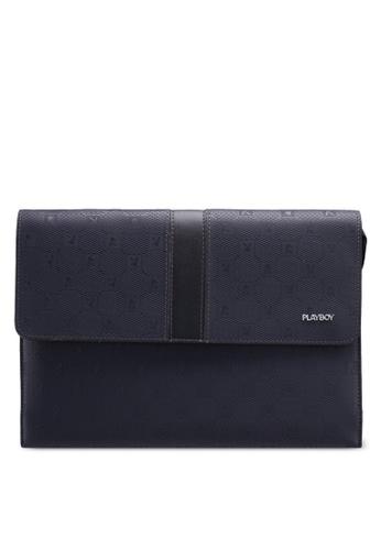 Playboy blue Playboy Clutch Bag 62CE1ACA0F17FEGS_1