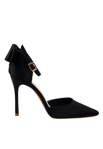 Twenty Eight Shoes 黑色 雙蝴蝶結晚裝及新娘鞋 VP51961 44A1ASHA4563FDGS_1