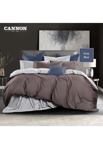 CANNON CANNON Morrison Bronetta - Gray Blue (Pillowcases). 92091HLBB649A8GS_1