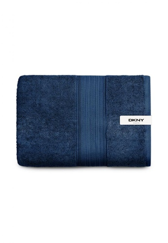 Dkny blue DKNY Stanton Estate Blue Bath Towel. 71500HL427F289GS_1