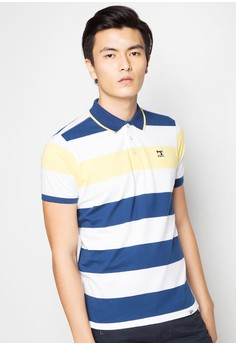 Stripes Polo Tee
