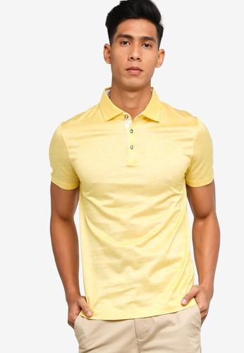 BOSS yellow T-Pryde 34 Polo Shirt 56A3FAA2A5B8D9GS_1