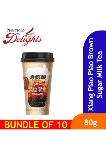 Prestigio Delights Xiang Piao Piao Brown Sugar Milk Tea 90g Bundle of 10 18975ES76B294EGS_1