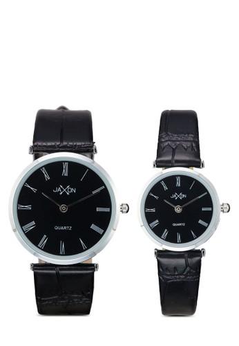 Clayton 經典圓框情侶esprit hk分店裱, 錶類, 皮革錶帶
