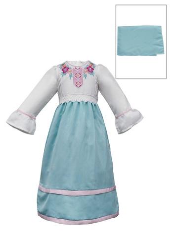 ODAIBA white and blue Muslim Anak-ODM 31 5/8 5AAC4KA6315E70GS_1