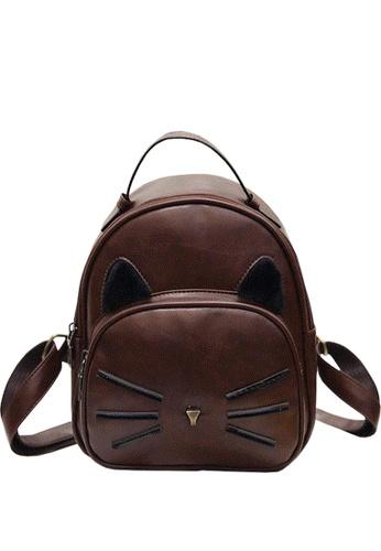 TCWK brown Ladies Backpack TC258AC59YHOMY_1