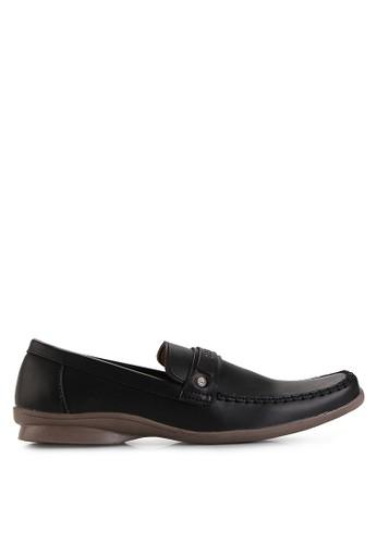 Dr. Kevin black Business & Dress Shoes Shoes 13237 Hitam Leather DR982SH19MHKID_1