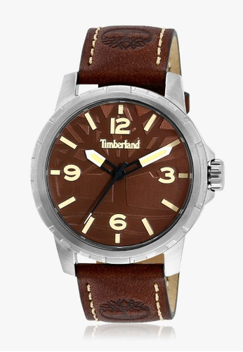 Timberland Watches brown Timberland Clarkson 3 hands Men TBL.15257JS/12 3ACD5AC49BE707GS_1