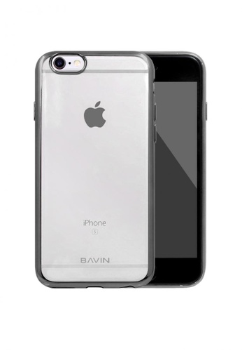 BAVIN black TPU Soft Case Protector for iPhone 6 B6360AC4984637GS_1