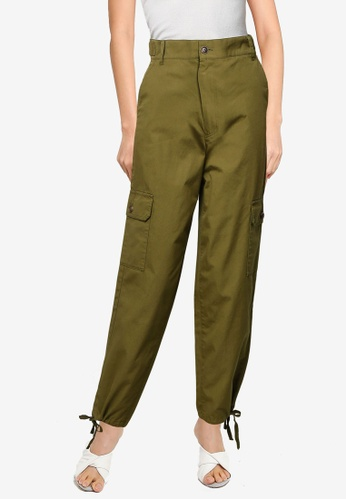 niko and ... green Cargo Pants C5DD1AAC94CFE2GS_1