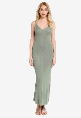 Trendyol green Mint Dress 2717FAAE387B49GS_1