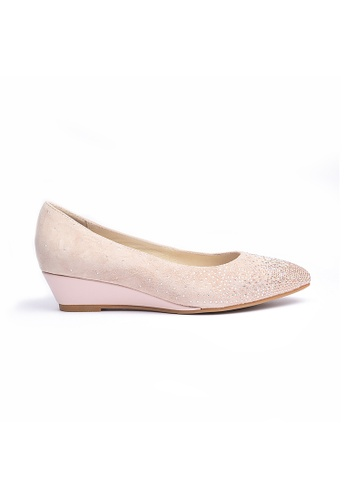 Elisa Litz pink Jaylin Wedges Pink EL365SH0GMAMSG_1