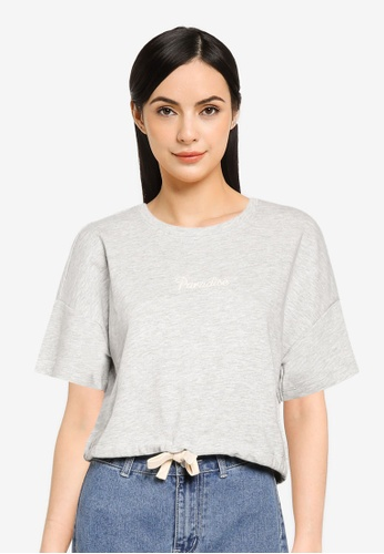 ONLY grey Lissi Life Tee B2023AA102A0A6GS_1