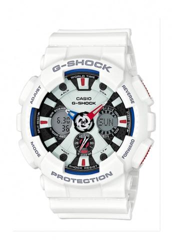 b1b29b8a4d54 G-shock white CASIO G-SHOCK GA-120TR-7A GS076AC74HEVMY 1