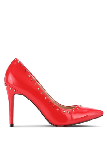 Nose red Studded Heel Pumps NO327SH0RC7RMY_1