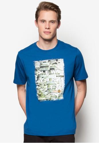 紐約城市圖案Tesprit tw 恤, 服飾, T恤