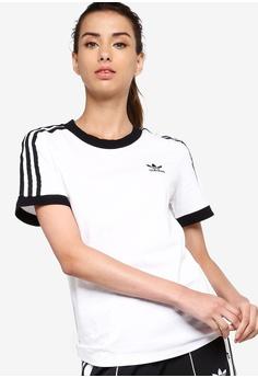 43d2d88ba63 adidas white adidas originals 3 stripes tee 9B2B5AAB064DC5GS_1